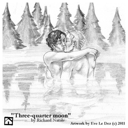 Three-Quarter-Moon-art-by-Eve-le-Dez