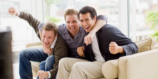 straight male friends